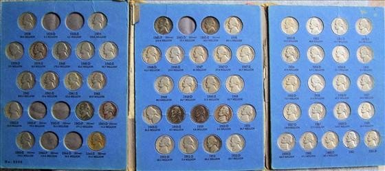 3024: Partial Set of Jefferson Nickels