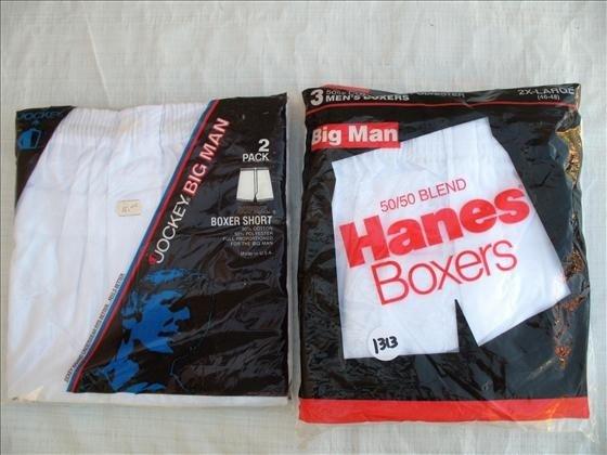 1313: 5 pr. Men's Boxer Shorts