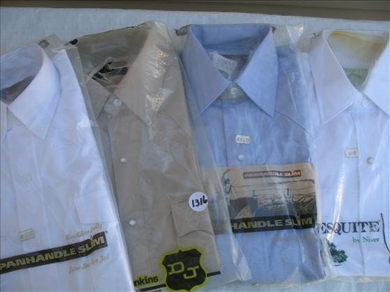 1316: 4 Men's Dress Shirts