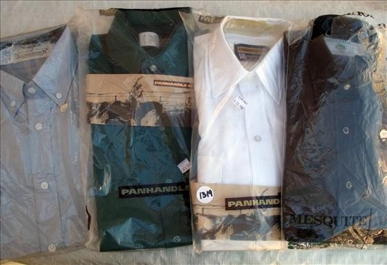 1319: 4 Men's Shirts, asst. colors
