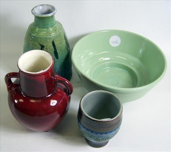 2012: 4 pc pottery