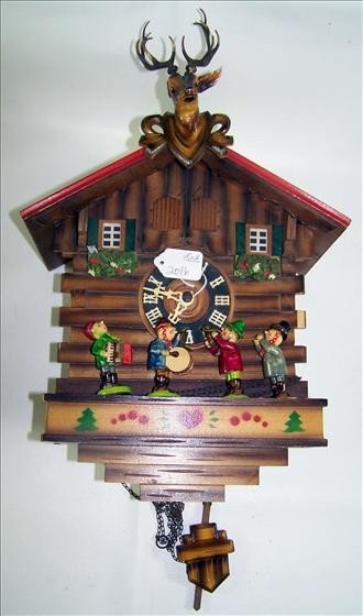 2016: Wood Cuckoo clock - German