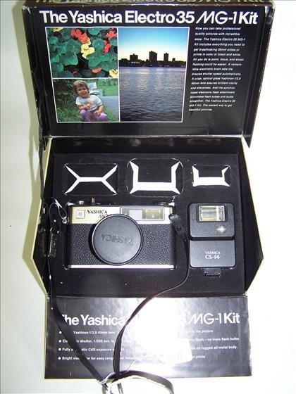 2018: Yashica Electro 35/MG - 1 Ki with box