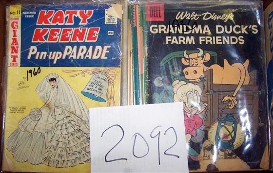 2092: Large box lot of comic books