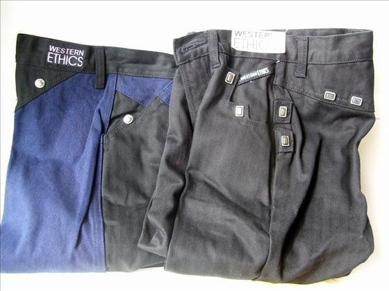 1307: 2 pr Western Ethics women's jeans