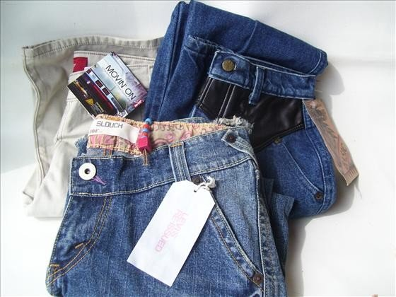 1308: 3 pr Size 5 women's /misses jeans