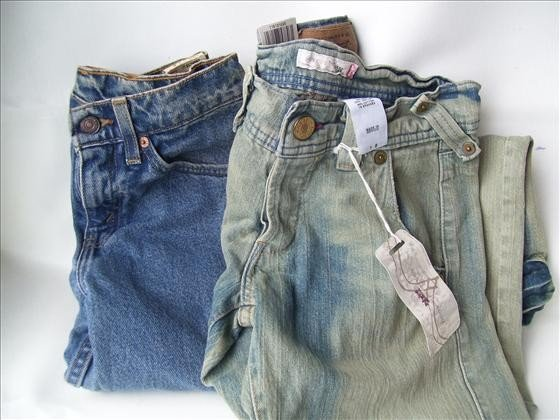 1309: 2 Jr shirt and jeans - JR. S