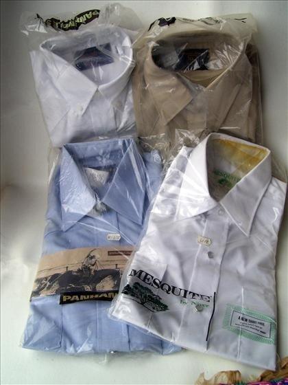1316: 4 men's dress shirts Size 14 1/2