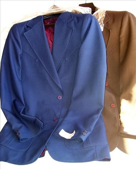 3011: 2 men's suit jackets - 36 long