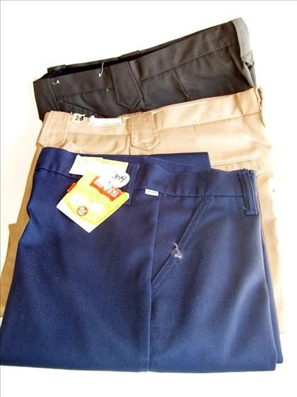 3014: 3 pr men's slacks - w 29 - length 30