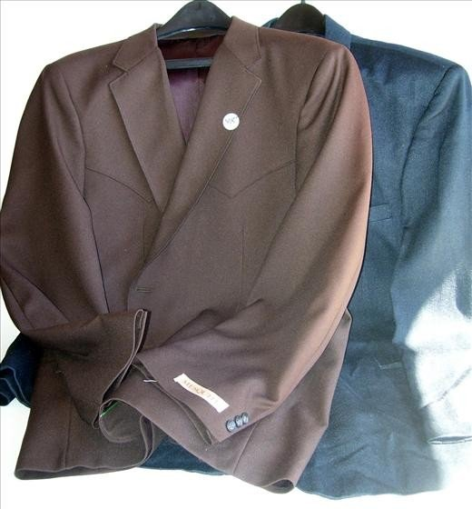 3015: 2 men's suit jackets 50 reg