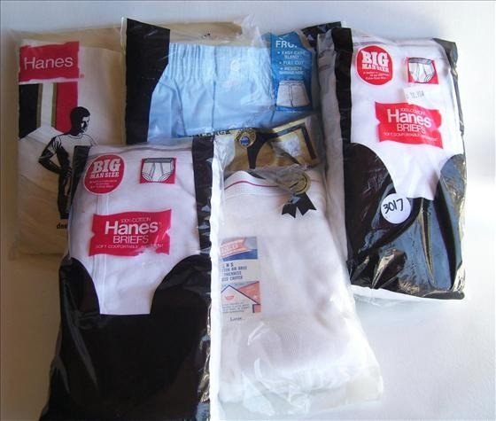 3017: Men's briefs - 5 packs