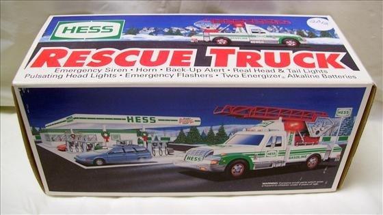 2012: Hess rescue truck