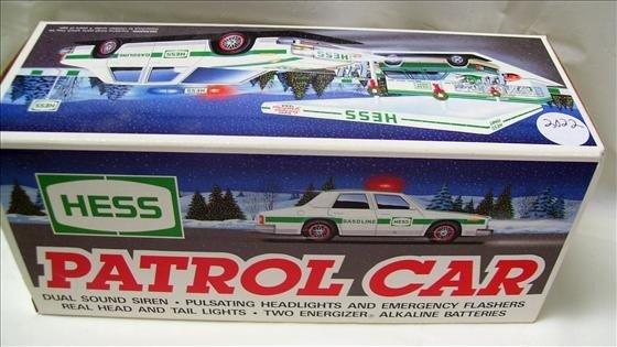 2022: Hess patrol car - siren - lights