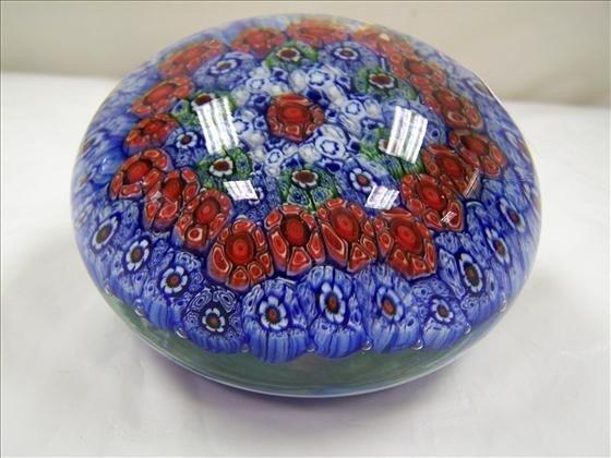 9009: Murano millefiori Paperweight