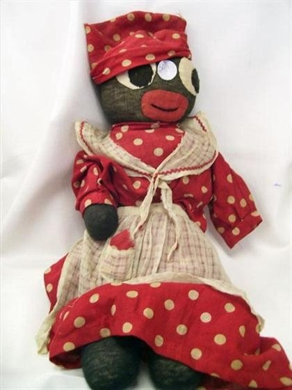 3011: Black Mammy sock doll