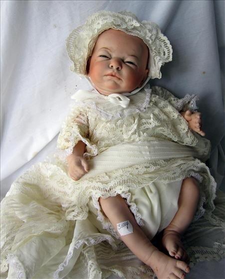 3024: Porcelain baby doll