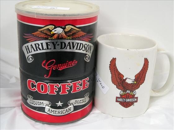 7017: 2 pc - Harley Davidson - coffee mug