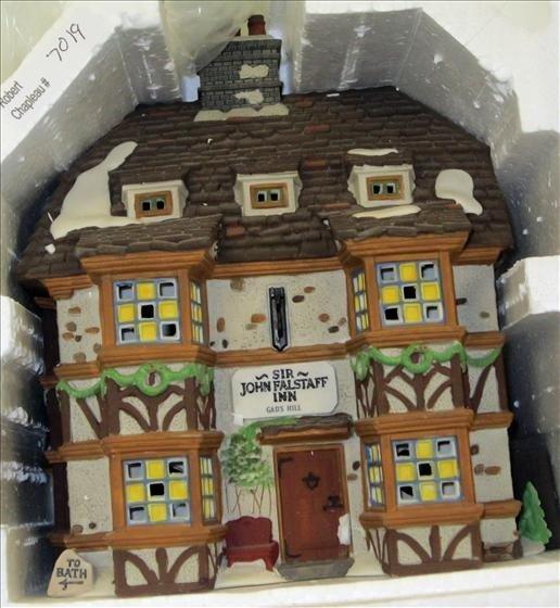 7019: Department 56 Sir John Falstaff Inn