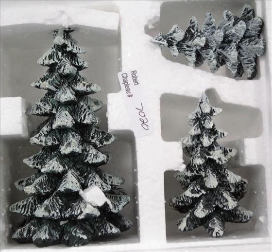 7020: Department 56 Evergreen Trees