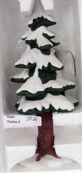 7021: Department 56 Porcelain Pine Large