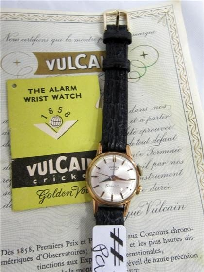 3063: Vulcain Cricket Alarm watch