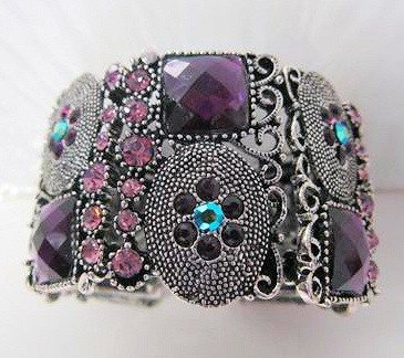 9004: Murano cuff bracelet