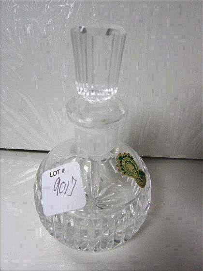 9017: Waterford crystal perfume