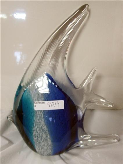 9018: Murano - Large Angel fish