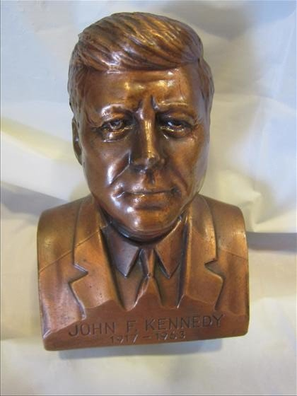8007: Die cast bank - John F. Kennedy