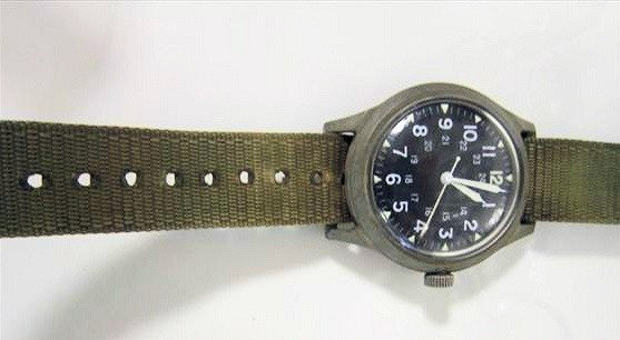 1704: Army watch - benrus June 1969
