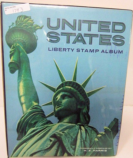 1743: United states Liberty Stamp album
