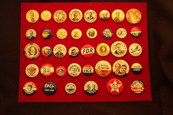 8005: Campaign Buttons