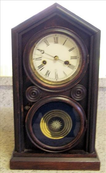 "8007: Ingraham ""Doric"" Model Clock ca. 1870"