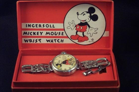 8120: Mickey Mouse Wrist Watch. Ingersoll