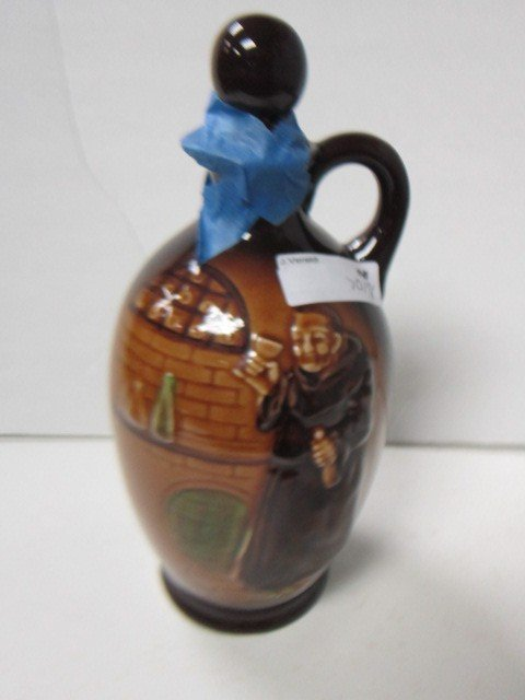 7018: Friar jug -high glaze-10""