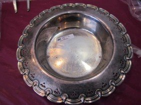 6058: Sterling Silver bowl Tiffany & Co