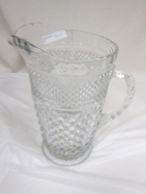 9007: Wexford glass Pitcher