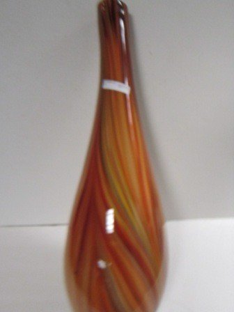 8002: Tall pencil vase multi colors