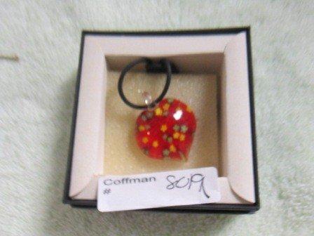 8019: Murano glass pendant with cord