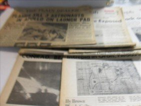 5024: 6 Newspapers from1967