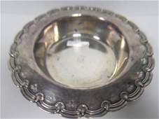 3016: Tiffany and Co sterling bowl- 15.2 oz