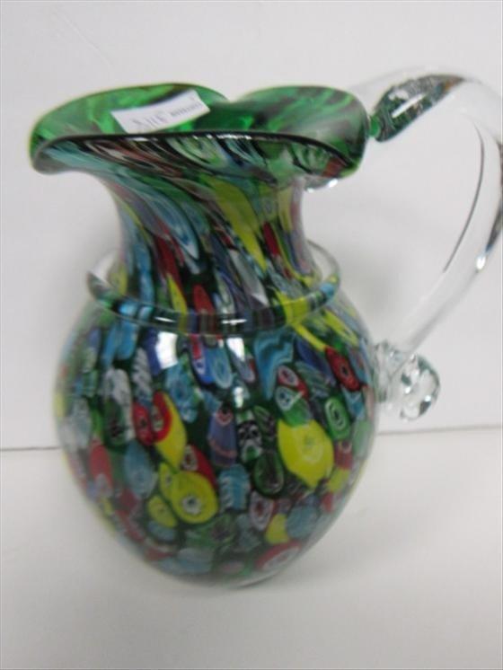 3118: Murano glass green