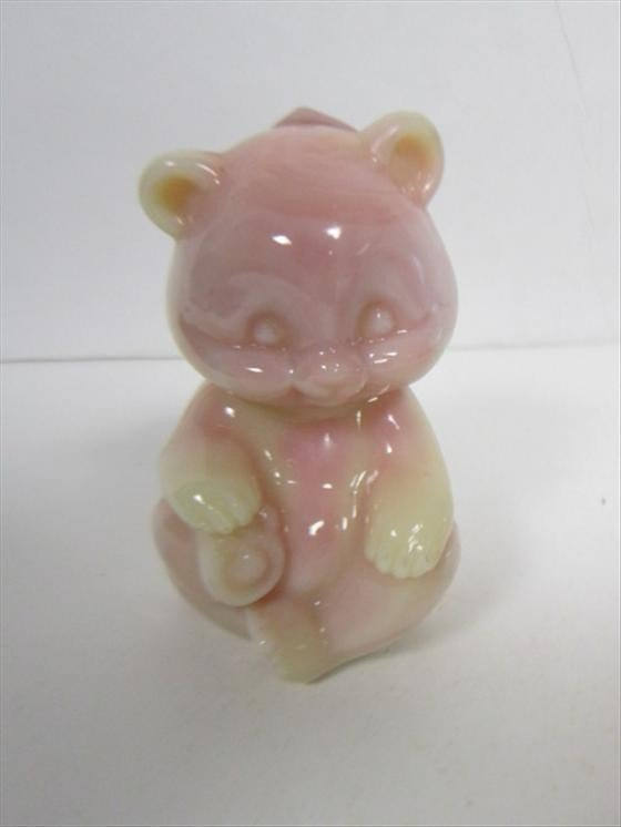 4005: Fenton teddy bear-marked and labeled
