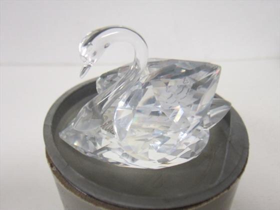 4008: Swarovski crystal #A7633 swan