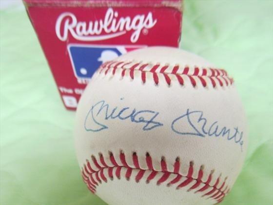 8023: Baseball Rawlings with box signed