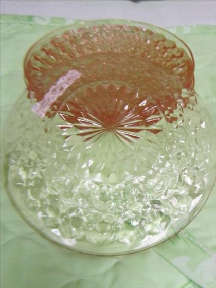 1106: 5 piece - Holiday sherbet plates
