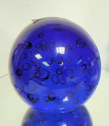 1112: Murano Glass - paperweight ball