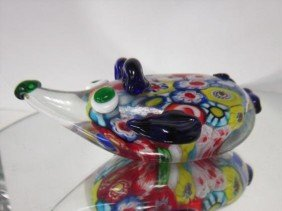 Murano Glass - Mouse Paperweight