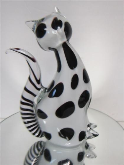 1159: Murano Glass - cat